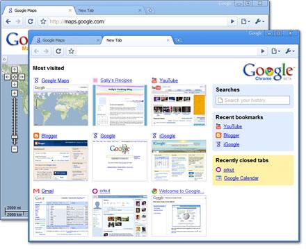 Google ウェブブラウザー Chrome