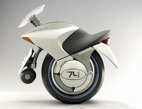 一輪バイク Uno