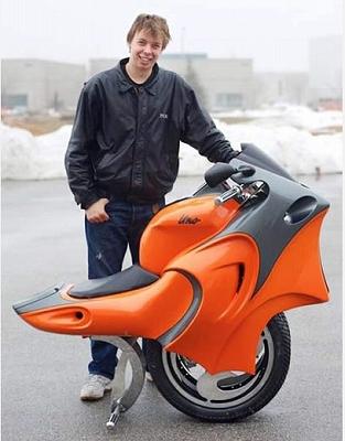 一輪バイク Uno Gulak