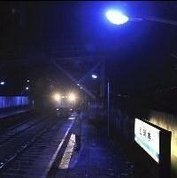 青い光 照明
