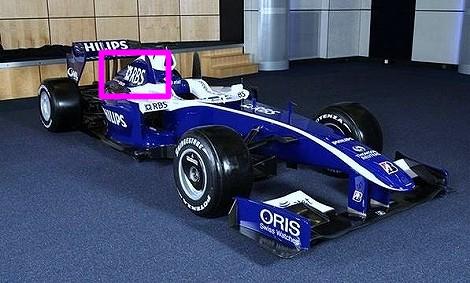 RBS F1 ウィリアムズ スポンサー契約 スポンサー料