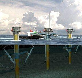 Marine Current Turbines 海流発電 海底発電