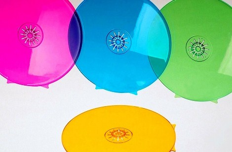 Protty プロッティ CD DVD ケース 裏面 記録面 保護 カバー