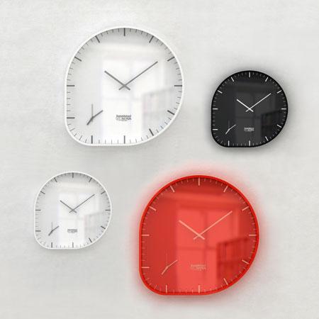壁掛け時計 2つ 時間
