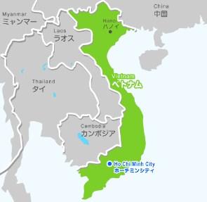 ベトナム 地図 新幹線