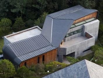 木造 鉄筋 コンクリート クロス 2重構造 住宅 モダン デザイン 家 設計 共生