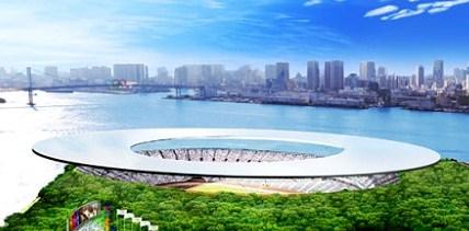 東京オリンピックスタジアム 太陽光発電