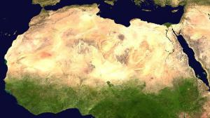 サハラ砂漠 太陽熱発電 緑化