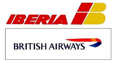 ブリティッシュ エアライン イベリア航空 合併 統合 業界再編 ロゴ