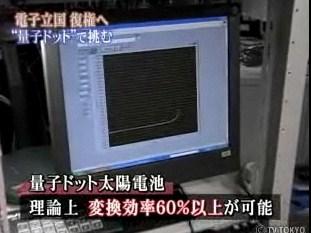 量子ドット 太陽電池 レーザー