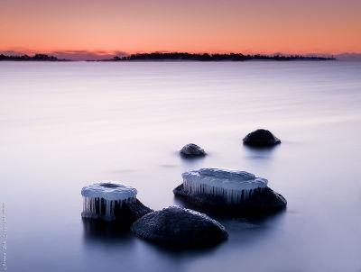 フィンランド Porkkala 長時間露光 撮影 写真
