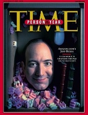 Jeff Bezos TIME person of the year 1999 タイム誌 パーソンオブザイヤー