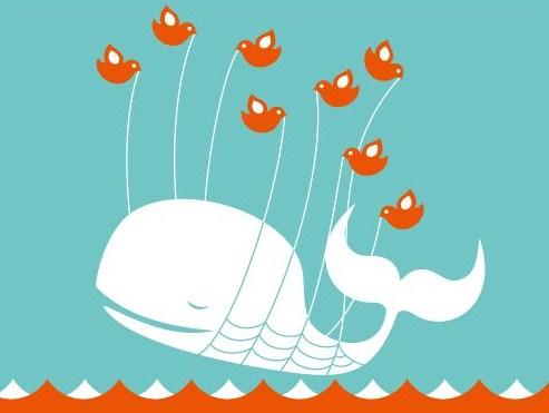 twitter ツイッター クジラ デザイン