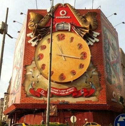 Vodafone ボーダフォン イスタンブール トルコ ビル