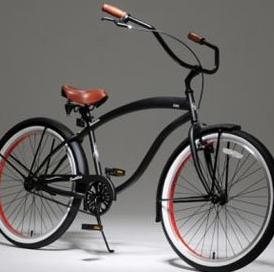 Loco サウスベイ ビーチクルーザー 太め タイヤ 自転車