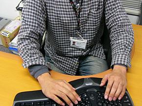 腱鞘炎 防止 対策 予防 マイクロソフト 人間工学 キーボード Natural Ergonomic 4000 7000