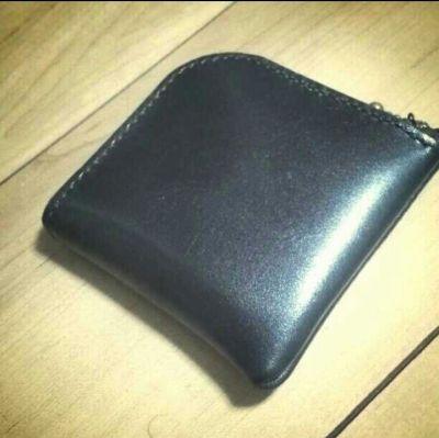 L字ダブルラウンドファスナー財布