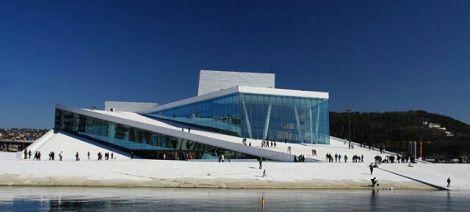 オスロ 新国立オペラハウス