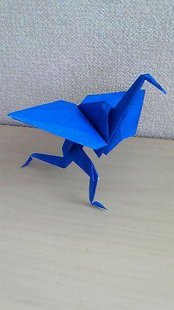 クリスマス 折り紙 鶴の折り紙 : 4ki4.cocolog-nifty.com